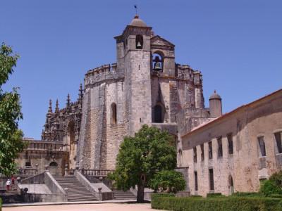 מנזר מסדר הצלוב (Convento de Cristo), טומאר, פורטוגל
