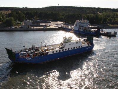 מעבורת לחצי העיר נרינגה, ליטא