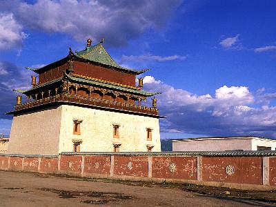 מנזר גאנדאן (Gandan Monastery), מונגוליה