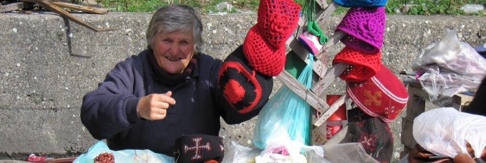 אישה גאורגית אותנטית