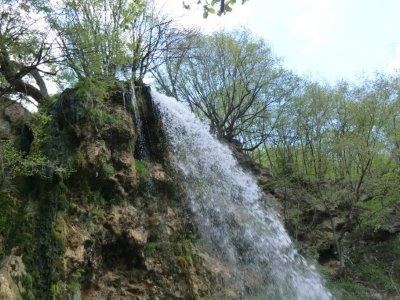 מפל מים Gostilje, סרביה