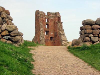 שרידי מצודת נבהרדק, בלארוס