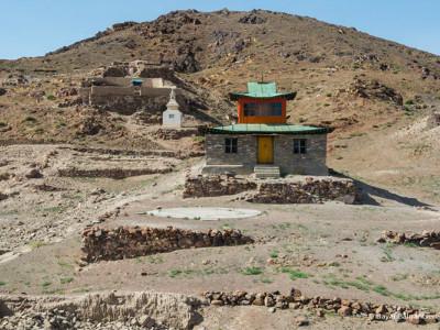 שרידי מנזר אונגי (Ongiin Khiid), מונגוליה