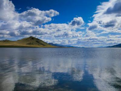 אגם טרחין צאגאאן (Terkhiin Tsagaan Lake), מונגוליה