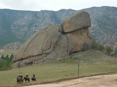 סלע הצב (Turtle Rock), מונגוליה