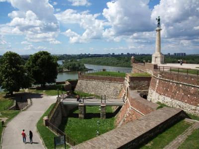 מצודת בלגרד | Belgrade Fortress ופארק קאלמגדן (Kalemegdan), סרביה