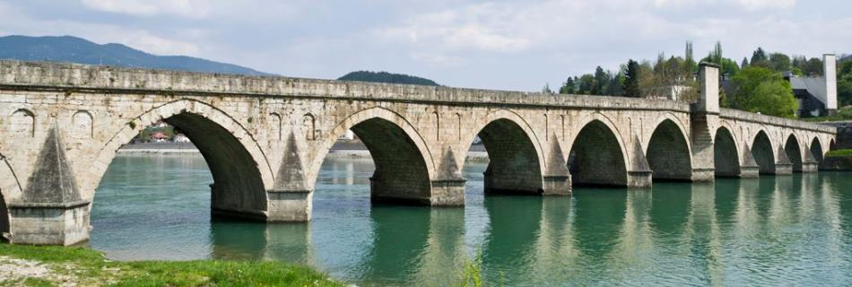 גשר מהמט פשה סוקולוביץ' או 'הגשר על נהר דרינה', בוסניה