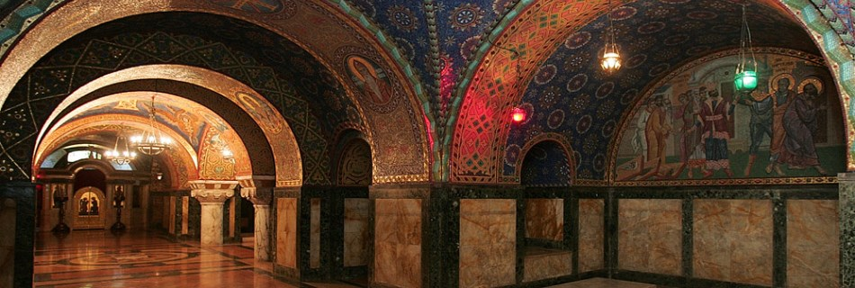מאוזוליאום שושלת קראג'ורג'ביץ' בגבעת אופלנאץ | Oplenac Mausoleum, סרביה