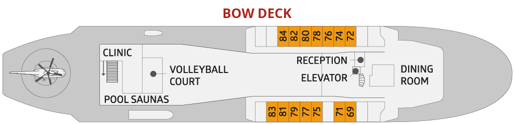 BOW DECK | שוברת קרח Fifty Years of Victory