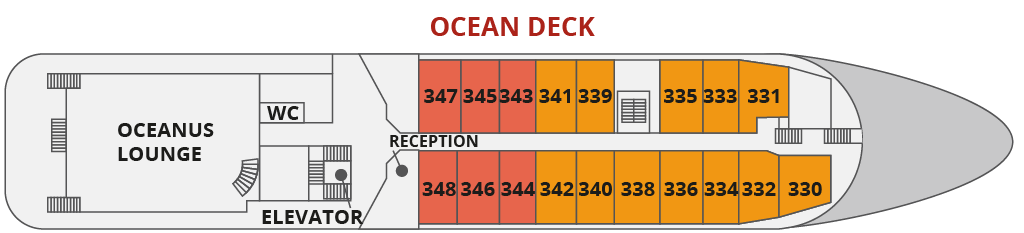OCEAN DECK | ספינת Sea Spirit