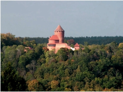 טירת טוראידה (Turaida Castle), לטביה