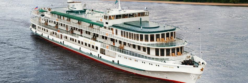 שייט נהרות ברוסיה בספינת פרימיום Volga Dream