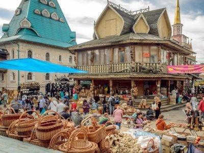 שוק עבודות היד והפשפשים איזמיילובו (Izmailovo), מוסקבה