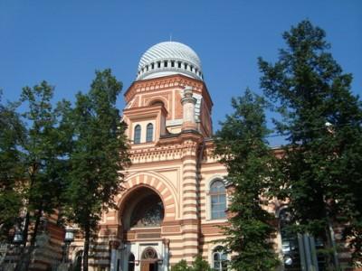 בית הכנסת כורל הגדול, סנט פטרסבורג