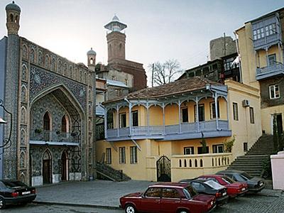 טביליסי העיר העתיקה