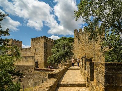 טירת סאו ז'ורז'ה (Castelo de São Jorge), ליסבון, פורטוגל
