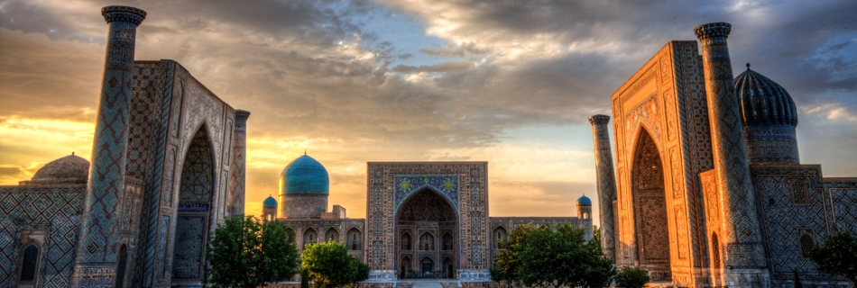 באוזבקיסטן - סמרקנד