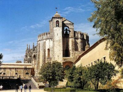 מנזר מסדר הצלוב' (Convento de Cristo), פורטוגל
