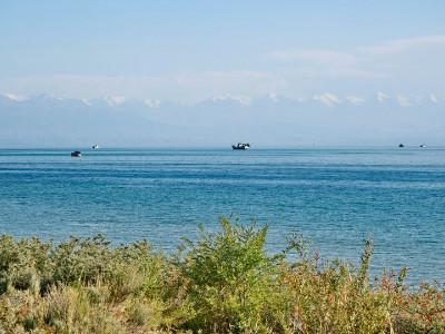 אגם איסי קול, קירגיזסטן