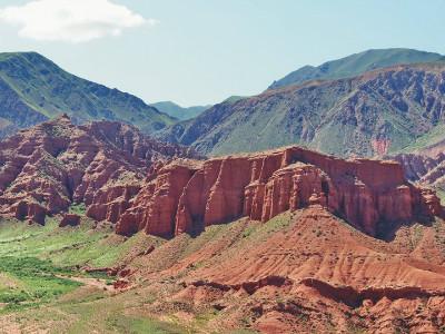 קניוני קונורצ'ק (Konorchek canyons), קירגיזסטן