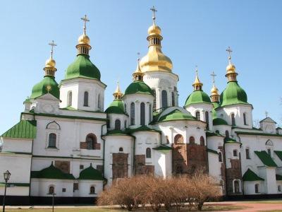 אוקראינה, קייב - קתדרלת סופיה הקדושה