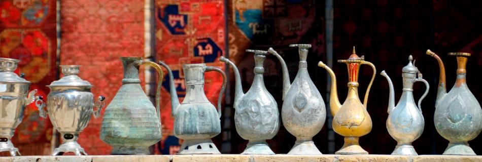 אוזבקיסטן, כדים אותנטיים