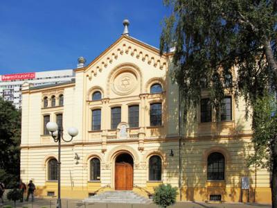 בית הכנסת נוז'יק בוורשה, פולין