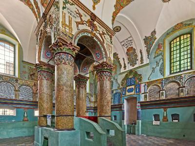 בית הכנסת, לנצוט, פולין