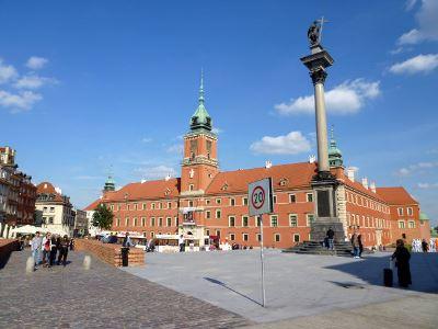 הארמון המלכותי (Zamek Krolewsky) בוורשה, פולין