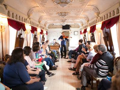 ברכבת הטרנס-סיברית Imperial Russia
