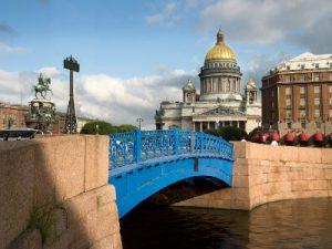 סנט פטרסבורג, שיט נהרות ברוסיה