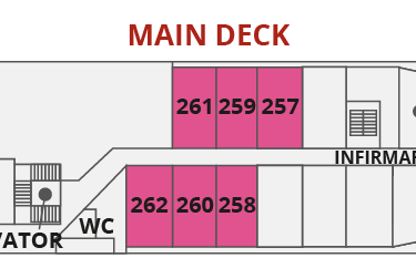 MAIN DECK | ספינת Sea Spirit