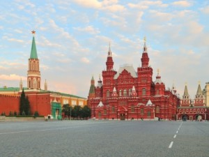 אתר טיול במוסקבה - הכיכר האדומה