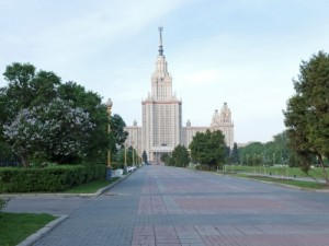 גבעת הדרור (וורוביובי גורי), מוסקבה