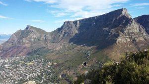 הר השולחן (Table Mountain), קייפטאון, טיול לדרום אפריקה