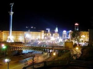 אוקראינה - קייב בלילה