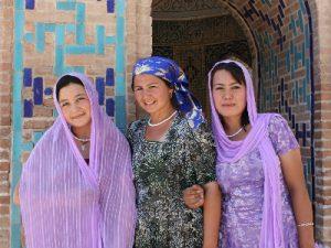 נשים אוזבקיות