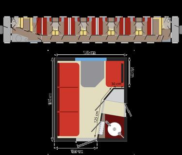 קטגוריית FIRST CLASS PLUS ברכבת הטרנס סיבירית