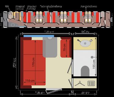 קטגוריית BUSINESS CLASS ברכבת הטרנס סיבירית