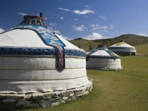 יורטה מונגולית - טיול ברכבת הטרנס סיבירית